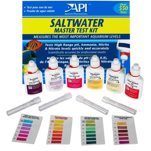 Aquarium pharmaceuticals saltwater master test kit for Fish tank water test kit